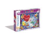 Puzzle Mořská panna Supercolor 2x20 dílků