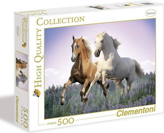 Puzzle Koně 500 - dílků