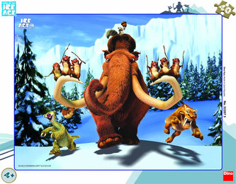 Doba Ledová 4 - rámové puzzle 40 dílků