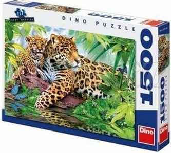Gepardi - puzzle 1500 dílků