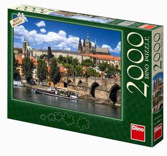 Pražský Hrad - puzzle 2000 dílků