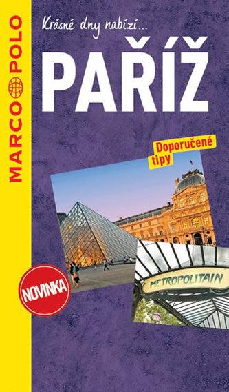 Paříž / průvodce na spirále s mapou MD - neuveden