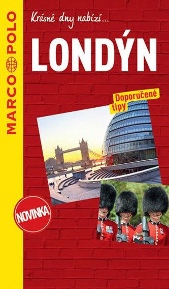 Londýn / průvodce na spirále s mapou MD - neuveden