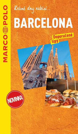 Barcelona / průvodce na spirále s mapou MD - neuveden