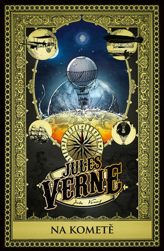 Na kometě - Verne Jules