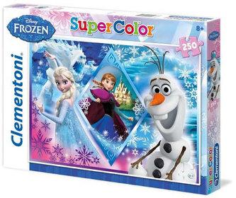 Puzzle Ledové království Supercolor - 250 dílků/Frozen