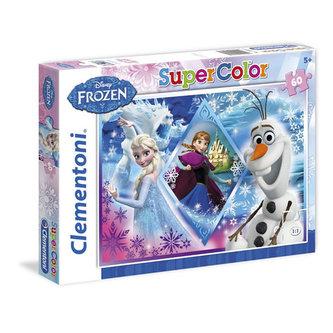 Puzzle Ledové království Supercolor - 60 dílků/Frozen