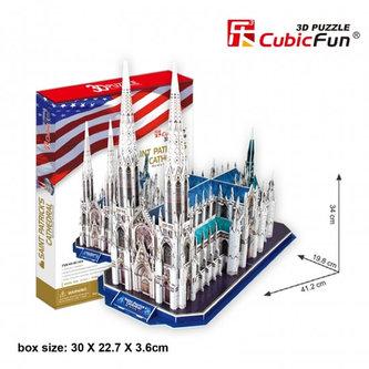 Puzzle 3D Katedrála Sv.Patrika - 117 dílků - neuveden