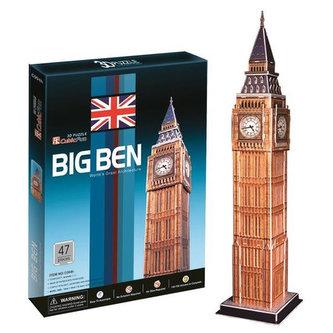Puzzle 3D Big Ben - 47 dílků - neuveden