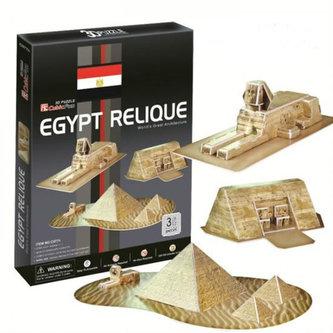 Puzzle 3D Egyptské památky - 30 dílků