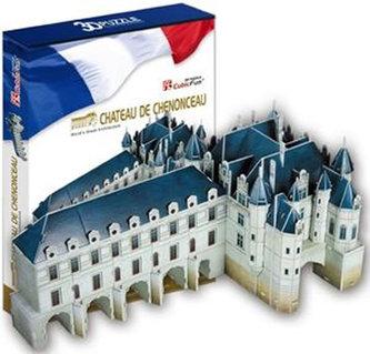 Puzzle 3D Chateau of Chenonceau - 116 dílků
