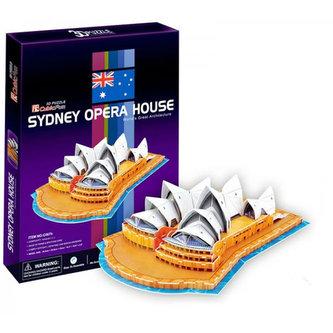 Puzzle 3D Opera v Sydney - 58 dílků - neuveden