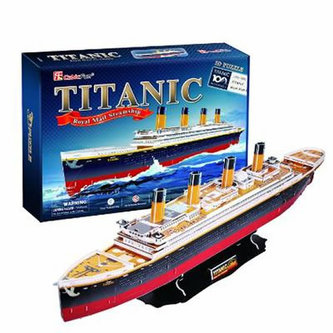 Puzzle 3D Titanic - 113 dílků