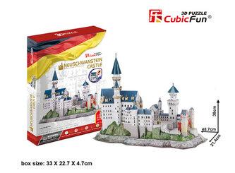 Puzzle 3D Zámek  Neuschwanstein - 128 dílků