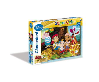Puzzle Jake a piráti Supercolor 2x20 dílků
