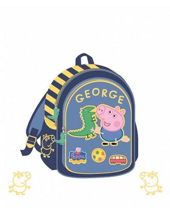 Školní taška Prasátko Peppa - modrá - neuveden