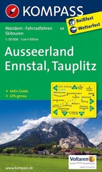 Kompass Karte Ausseerland, Ennstal, Tauplitz