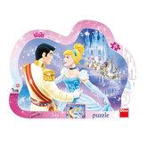 Zamilovaná Popelka - puzzle 25 dílků