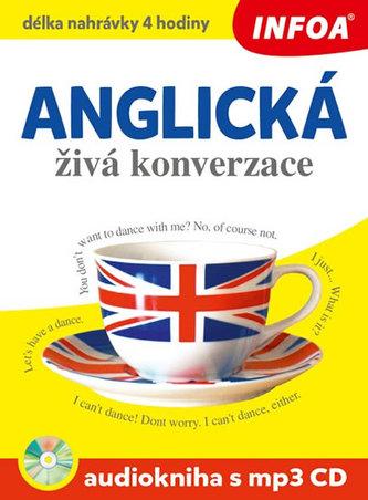Anglická živá konverzace + CDmp3 - neuveden