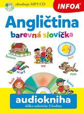 Angličtina barevná slovíčka + CDmp3