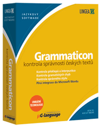 Grammaticon - Kontrola správných českých textů
