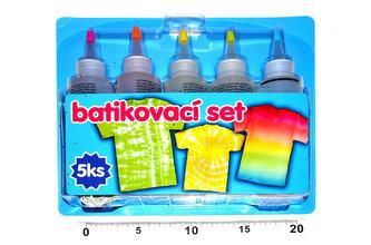 Batikovací set - 5ks