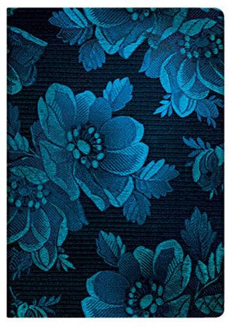 Zápisník - Chic & Satin - Blue Muse Midi Lined