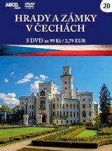 Hrady a zámky v Čechách - 5 DVD