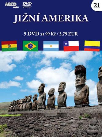 Jižní Amerika - 5 DVD - ABCD - VIDEO
