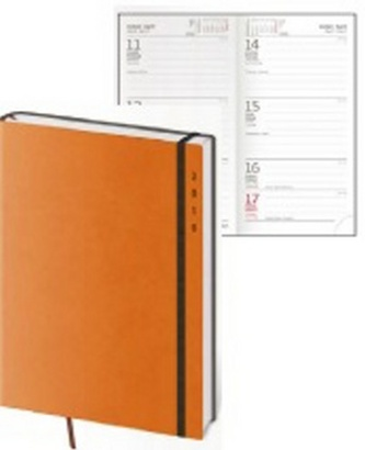 Diář 2016 - Flexies kapesní týdenní - oranžová