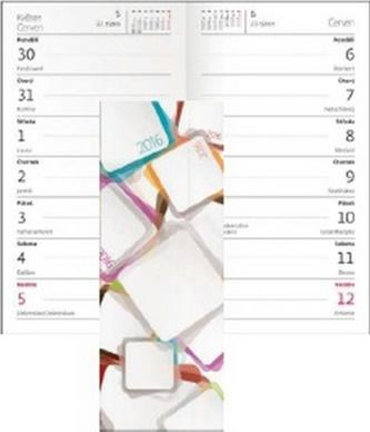 Diář 2016 - Napoli čtrnáctidenní kapesní  PVC - design 05