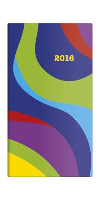 Diář 2016 - Napoli čtrnáctidenní kapesní  PVC - design 06