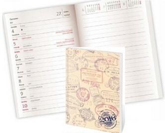 Diář 2016 - Poketto kapesní - Stamp