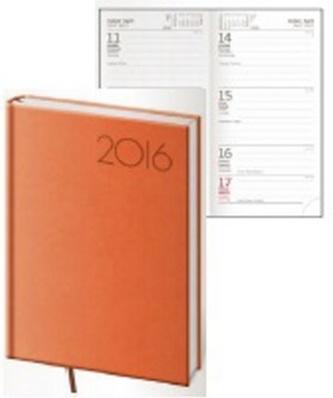 Diář 2016 - Print kapesní týdenní - oranžová