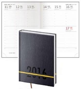 Diář 2016 - Strips A5 týdenní - žlutá