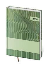 Diář 2016 - Vario A5 denní - Green