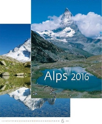 Kalendář nástěnný 2016 - Alps
