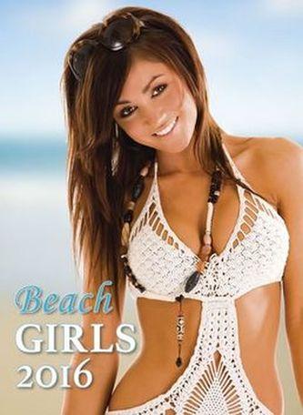Kalendář nástěnný 2016 - Beach Girls