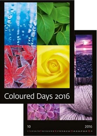 Kalendář nástěnný 2016 - Coloured Days