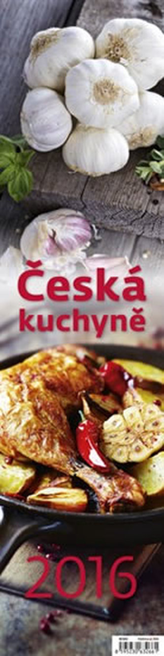 Kalendář nástěnný 2016 - Česká kuchyně