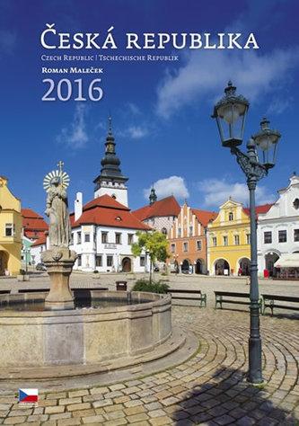 Kalendář nástěnný 2016 - Česká republika/Czech Republic/Tschechische Republik