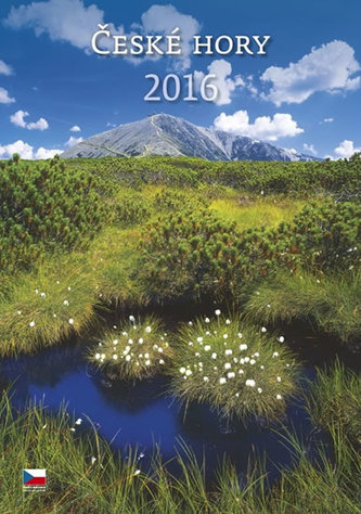 Kalendář nástěnný 2016 - České hory