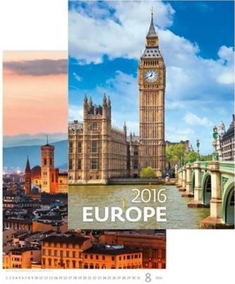 Kalendář nástěnný 2016 - Europe