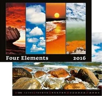 Kalendář nástěnný 2016 - Four Elements