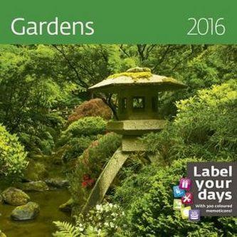 Kalendář nástěnný 2016 - Gardens 300x300