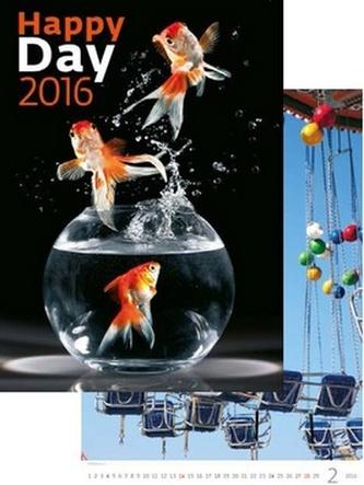 Kalendář nástěnný 2016 - Happy Day