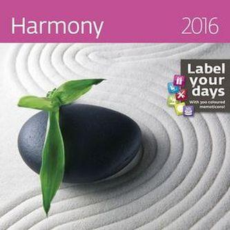 Kalendář nástěnný 2016 - Harmony