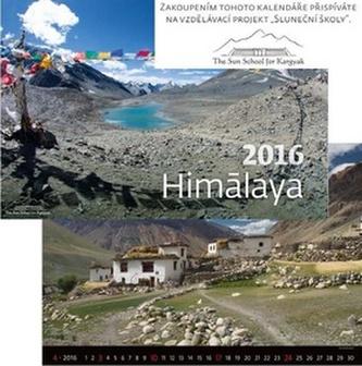 Kalendář nástěnný 2016 - Himalaya