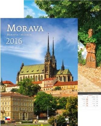 Kalendář nástěnný 2016 - Morava/Moravia/Mähren