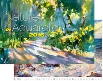Kalendář nástěnný 2016 - Nature in Aquarelle